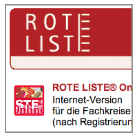 ROTE LISTE ONLINE